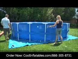 Каркасный бассейн <b>Intex Metal Frame</b> 457x122 см + фильтр ...
