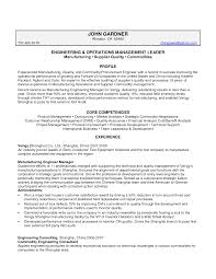 resume for purchase executive