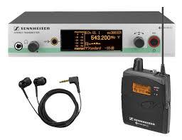 Ин-эйр <b>система персонального мониторинга Sennheiser</b> G3 ...