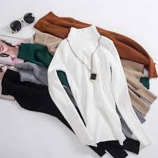 On sale INS <b>2019 autumn winter</b> Women Knitted <b>Turtleneck Sweater</b> ...