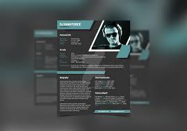 dj press kit dj resume templates by iamvinyljunkie on iamvinyljunkie 2 0 mini stix dj resume