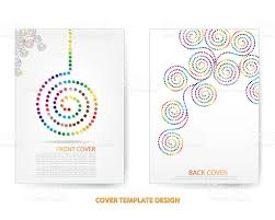 annual report cover design stock vector art istock 1 credit