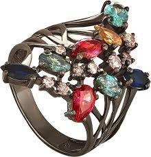 Серебряные кольца Кольца <b>Kabarovsky</b> 11-036-7989 недорого в ...