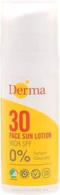 <b>Солнцезащитный лосьон</b> для лица - Derma <b>Sun Face</b> Cream ...