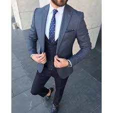 Mens <b>Stylish 3 Piece</b> Suit