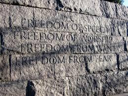cd 36 election today hahn vs huey franklin delano roosevelt memorial four freedoms