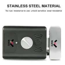 <b>WAFU WF 014A</b> Smart Double Fingerprint Lock <b>Electric</b> Lock Door ...