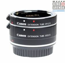 Rent Lens Accessories <b>Canon Extension Tube EF</b> 12 II / Extension ...