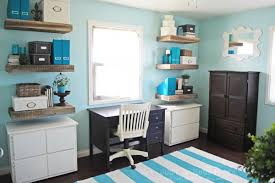 create the ultimate home office blue home offices