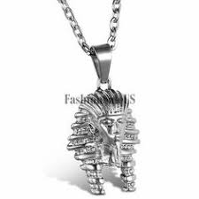 Details about Men's Vintage <b>Stainless Steel</b> Snake <b>Egyptian</b> Ankh ...