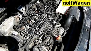 VW Golf 6 <b>oil pressure switch</b> sensor location - YouTube