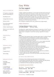 it cv template  cv library  technology job description  java cv     st line support cv template