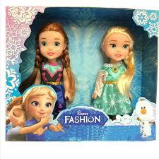 Snow Queen <b>Anna Elsa</b> Dolls for Girls Birthday Gift <b>Princess Frozen</b> ...
