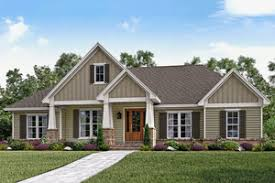 Floor Plans  amp  Home Designs On Sale   Houseplans comCraftsman Exterior   Front Elevation Plan       Houseplans com  ON SALE