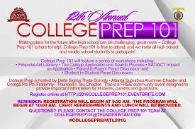 th annual college prep be ready for life after high have