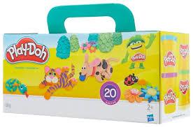 Масса для лепки Play-Doh <b>Набор 20</b> банок (A7924) — купить по ...