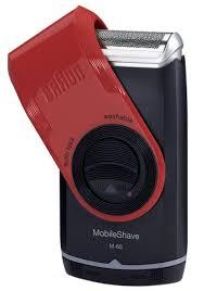 Купить <b>Электробритва Braun MobileShave</b> M-60 red по низкой ...