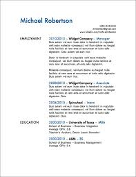 more free resume templates   primerresume