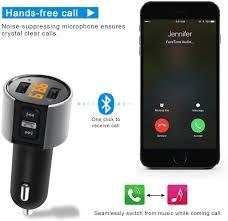 Bluetooth FM Transmitter for Car, Wireless Bluetooth ... - Amazon.com
