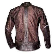 By City <b>Men's</b> Sahara Venty II <b>Mesh Leather</b> Jacket - Salt Flats ...
