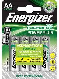 <b>Аккумуляторы Energizer</b> Power Plus - <b>AA</b>, AAA, 9V, C, D Russian