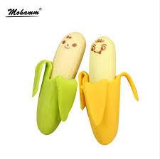 <b>2 Pcs Lot</b> Kawaii <b>Cute Cute Banana</b> Eraser Fruit Pencil Rubber ...