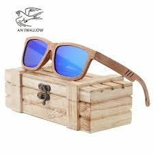 <b>AN SWALLOW</b> Beech <b>Wood</b> Men <b>Sunglasses</b> Polarized <b>Wooden</b> ...