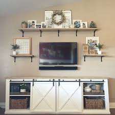 19 diy entertainment center ideas ana white completed eco office desk