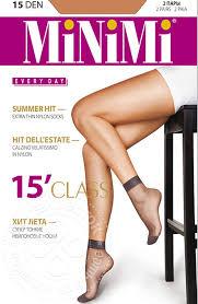 Купить <b>Носки женские MiNiMi</b> Class 15 Diano 2 пары с доставкой ...