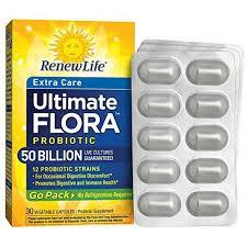 <b>Ultimate</b> Flora <b>Extra Care</b> Probiotic <b>Go Pack</b> 50 Billion