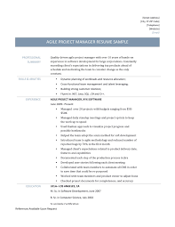 agile business analyst resume template and job description agile project manager resume template when applying to an agile business analyst