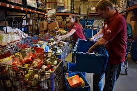 could vermont s new recycling law help feed the poor all signs hannaford employees shylar paye left and drew hill sort items to be donated to local food shelves in the warehouse of the hannaford supermarket in