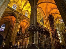 Resultado de imagen de catedral de sevilla y giralda