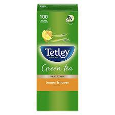 Tetley Green Tea <b>Bags</b> - Lemon & Honey, <b>100 Pieces</b>: Amazon.in ...