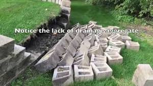 Small Picture How to Build a Retaining wall and why they Fail YouTube