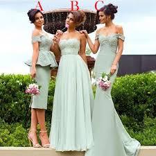 <b>Mixed</b> Styles Bridesmaid Dresses 2017 Cheap Long For Weddings ...