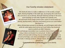 lovebytesu  my life as a wife a mother and a daughter  page  our family mission statement
