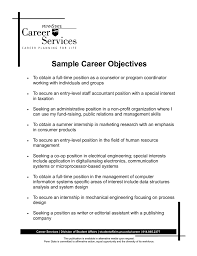 career objective in a resume  seangarrette cocareer objective