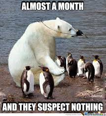 Polar Bear Stealth Spy Memes. Best Collection of Funny Polar Bear ... via Relatably.com