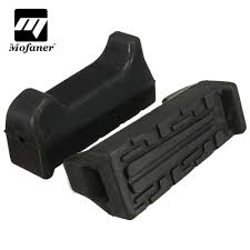 <b>One Pair Black</b> Front <b>Rubber</b> Motorcycle Foot Rest Peg For Yamaha ...