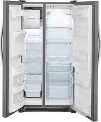 Frigidaire 22.1 Cu. Ft. <b>Side</b>-by-<b>Side</b> Refrigerator <b>Stainless Steel</b> ...