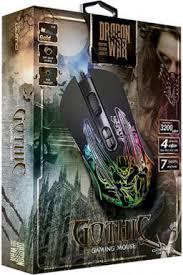 Купить <b>Мышь Qumo</b> Dragon War <b>Gothic</b> M51 проводная игровая с ...