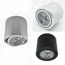 cylinder 3w led ceiling down light fixture surface mounted spot lamp living room in home ceiling mounted spot lighting