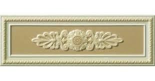 <b>Керамический декор Vallelunga</b> Lirica Tortora dec cornice 10х30 см