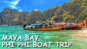 <b>Maya bay</b> Boat Tour, The Beach, Phi Phi Leh Island, Thailand
