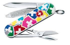 <b>Нож</b>-<b>брелок</b> Victorinox <b>VX Colors</b> 58 мм 7 функций