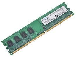<b>Оперативная память</b> Crucial <b>DDR2</b> DIMM <b>1GB</b> CT12864AA800 ...