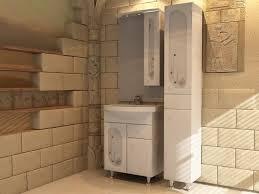 <b>Зеркало со шкафом АСБ-мебель</b> Грета 80 9933 R с подсветкой ...