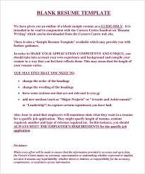 able resume templates resume genius  resume builder    free blank resume template online editable