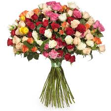 <b>Bouquet</b> «Spray <b>roses</b> mix» with delivery across Moscow, Russia ...